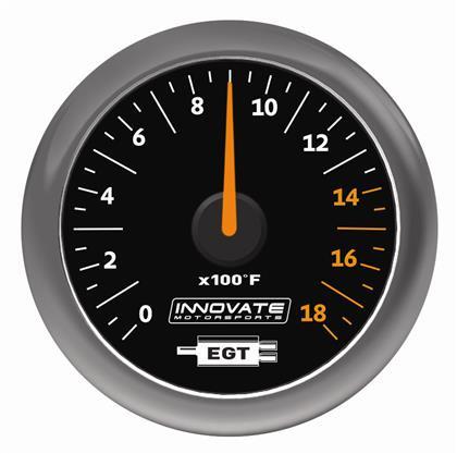 ZEGAR Innovate 52mm Exhaust Gas Temperature MTX-A - GRUBYGARAGE - Sklep Tuningowy
